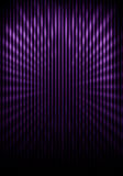 Shaded wall with grill painting and light rays. Shaded wall with violet grill painting and light rays Royalty Free Stock Image
