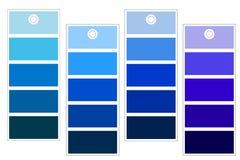 Shades of Blue Stock Photo