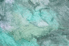 Shades of Blue Sidewalk Chalk Drawing Background. A abstract background of various shades of colorful blue children's sidewalk chalk drawn together in swirls Royalty Free Stock Image