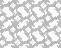 Shades of gray rounded rectangles touching Royalty Free Stock Image