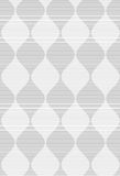Shades of gray striped dark and light bulging waves merging Royalty Free Stock Images