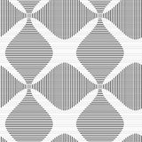 Shades of gray striped four foil Stock Photo