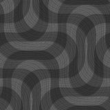 Shades of gray textured crossing waves Stock Image