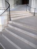 Shades of Grey-Cathedral Steps Royalty Free Stock Photography