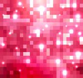Shades of magenta  color crystallization texture. Stock Image