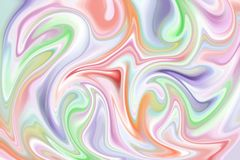 Free Shades Of Purple, Green, Orange And Pink, Abstract Marble Effect Background. Pattern Can Be Used As A Background Or For Cards, Royalty Free Stock Images - 152407189