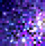 Shades of purple color crystallization texture. Royalty Free Stock Photography