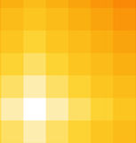 Shades of yellow square background Royalty Free Stock Photography