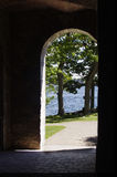 Shadow archway Royalty Free Stock Image
