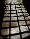 Shadow of bars Royalty Free Stock Image