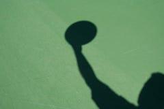 Shadow Basketball Player Stock Photo