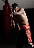 Shadow boxing Royalty Free Stock Image