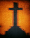 Shadow of a cross Stock Photos