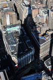 The shadow of the Empire State building Stock Photography