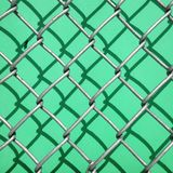 Shadow of a fence on a green wall Stock Photos