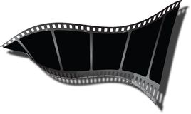 Shadow film twist Royalty Free Stock Images