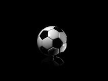 Shadow football Royalty Free Stock Photo