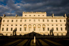 Shadow game, Greenwich. Royalty Free Stock Images