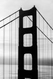 Shadow of Golden Gate Bridge Stock Image