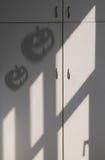 Shadow of Halloween pumpkin Royalty Free Stock Image