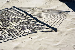 Shadow of a Hammock Royalty Free Stock Photography