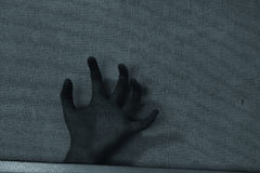 Shadow hand outside Stock Image