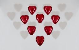 Shadow Hearts Royalty Free Stock Photo