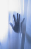 Shadow of horror hand Stock Photography