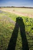 Shadow Kiss Royalty Free Stock Image