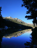 Shadow Lake reflection Royalty Free Stock Images
