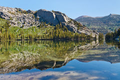 Shadow Lake in the Sierra Nevada Royalty Free Stock Photos