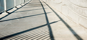 Shadow lines. Royalty Free Stock Image