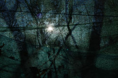 Shadow and net background Royalty Free Stock Photos