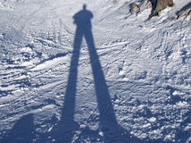 Shadow projection Royalty Free Stock Image