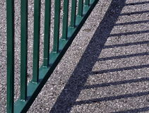 Shadow railing Stock Photos