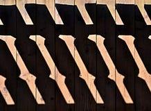 Shadow railings Royalty Free Stock Photo