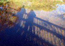 Shadow Reflections Royalty Free Stock Images