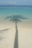 Shadow on the sea Royalty Free Stock Photography
