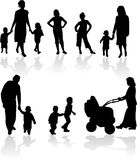 Shadow silhouette Royalty Free Stock Images