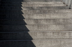 Shadow on stair Stock Photos