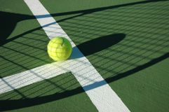 Shadow Tennis Stock Images