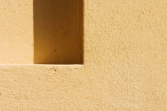 Shadow texture. Wall with window in shadow can used as a background Stock Image