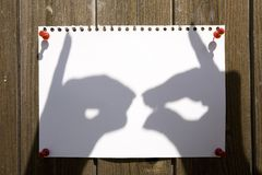 Shadow Theatre Stock Photography