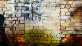 Shadow on the wall stock footage