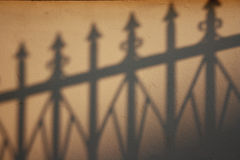 Shadow on the wall texture Royalty Free Stock Photo