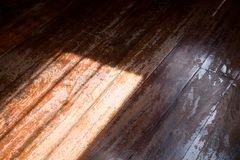 Shadow on wood background Royalty Free Stock Photos