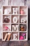 Shadowbox home Stock Photo