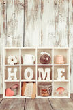 The Shadowbox home Royalty Free Stock Images