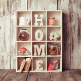 The Shadowbox home Stock Photography