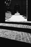 Shadowed path Royalty Free Stock Images